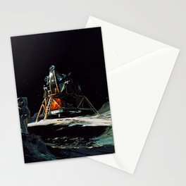 09. Imagining Apollo 13 on the Lunar Surface Stationery Cards