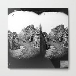 Stereoskop  Metal Print