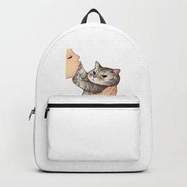 cat : hmmmmm! Backpack