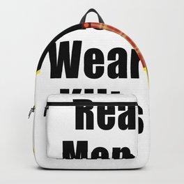real men wear kilt kilt real men sco Backpack