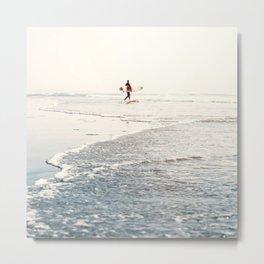 Surfer Dude- Surf Art Metal Print