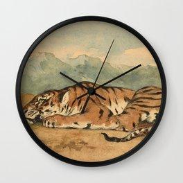 """Eugène Delacroix """"Royal Tiger"""" Wall Clock"""
