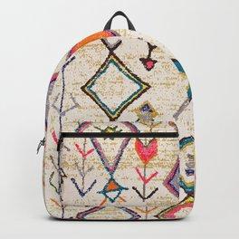 Traditional Vintage Moroccan Berber rug Backpack