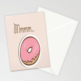 Mmmm... Donut Stationery Cards