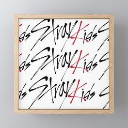 stray kids Framed Mini Art Print
