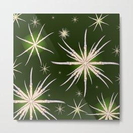 snowflakes of kitchen knives Metal Print