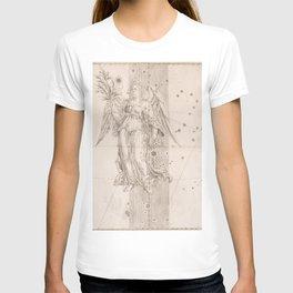 Johann Bayer - Uranometria / Measuring the Heavens (1661) - 25 Virgo T-shirt