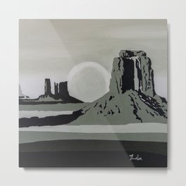 Monument Valley #1 Metal Print