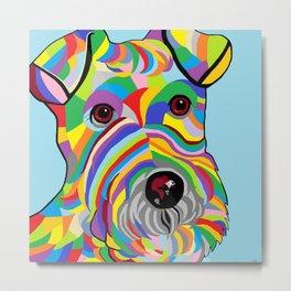 Wire Fox Terrier Metal Print