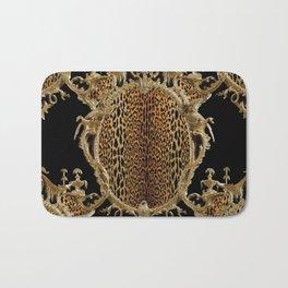 Leopard Chinoise Bath Mat