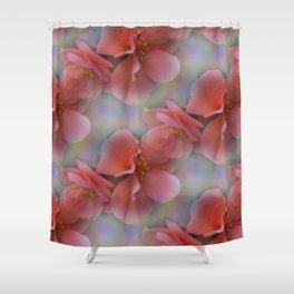 flowers -9- seamless pattern Duschvorhang