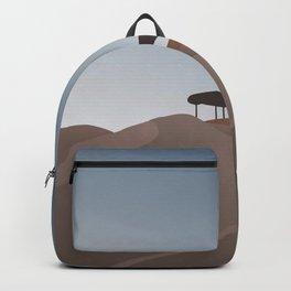Desert Outlook Art Print Backpack
