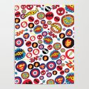 Superhero Stickers by nicholasgreen