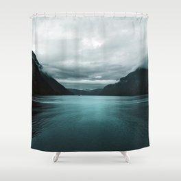 Vikings 02 Landscape Shower Curtain