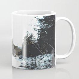 Winter Landscape Minimalism | Minnesota Nature Design Coffee Mug