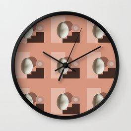 Ab ovo pattern Wall Clock