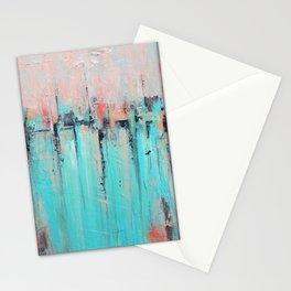 New Theory - Mixed Media Art Stationery Cards