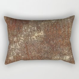 Embroidery Rectangular Pillow