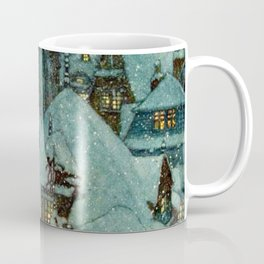 Winter Night By Edmund Dulac  Coffee Mug