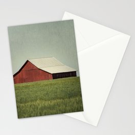 Red Barn Blue Sky Stationery Cards