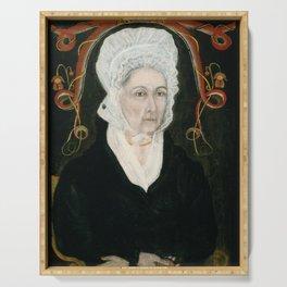 Asahel Powers - Mrs Patrick Henry (Dorothea Dandridge) Serving Tray