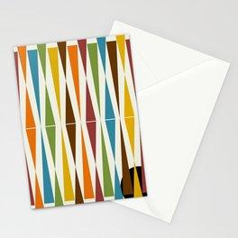 Mid-Century Modern Art 1.4 Stationery Cards