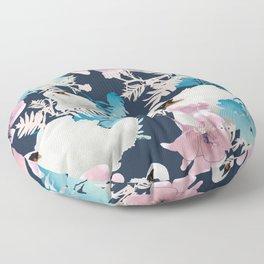 Swan song Floor Pillow