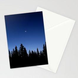 Moonrise over Medicine Bow Stationery Cards