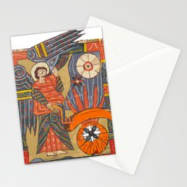 misterio visual 11:  ojo y la última trompeta Stationery Cards