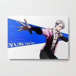 Yuri On Ice Metal Print