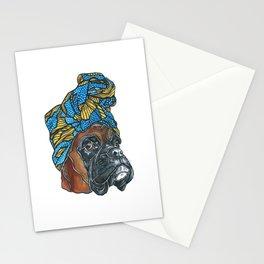 Bridgette the Boxer Dog Stationery Cards