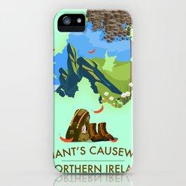 Giant's Causeway, northern ireland iPhone Case