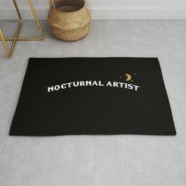 Nocturnal Artist Rug
