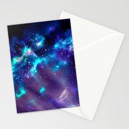 Abstract Nebula #2: Blue Stationery Cards