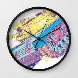 TANKIE: ANTI-TANK DEVICE Wall Clock