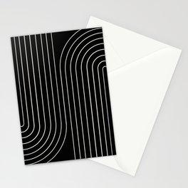 Minimal Line Curvature II Stationery Cards
