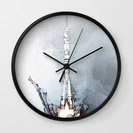 Rocket fev23 Wall Clock