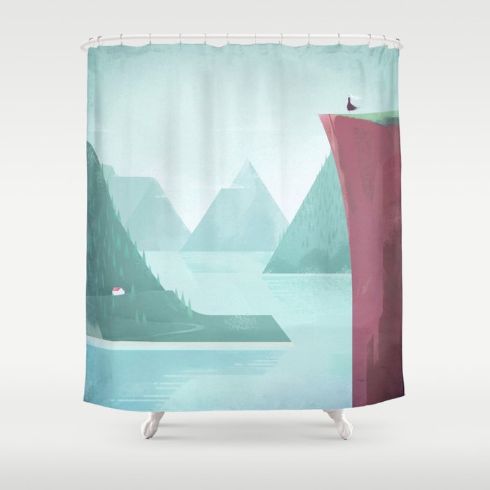 Norway Shower Curtain