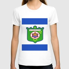 flag of tel aviv T-shirt