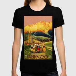 Vintage Abruzzo Italy Travel T-shirt