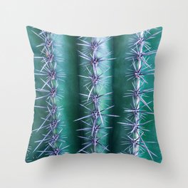 Can't Touch This - Saguaro Cactus Throw Pillow
