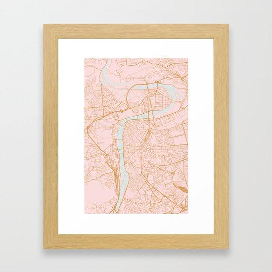 Prague map by annago
