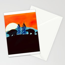 Waiting for the Midnight Sun  Stationery Cards
