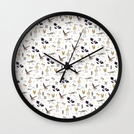 Shorebirds Wall Clock