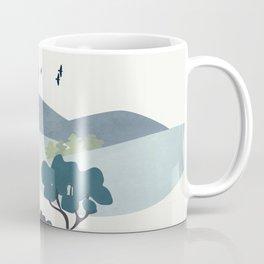 Minimalist Landscape Art II Coffee Mug
