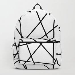 strips black Backpack