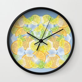 When life gives you citruses... Wall Clock