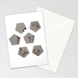 Pentagons of May 6 Stationery Cards
