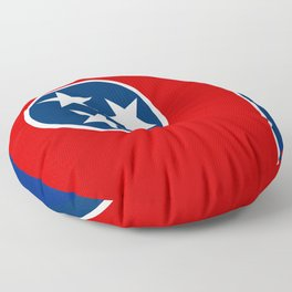State flag of Tennessee Floor Pillow