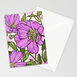 Rosa nutkana  Stationery Cards